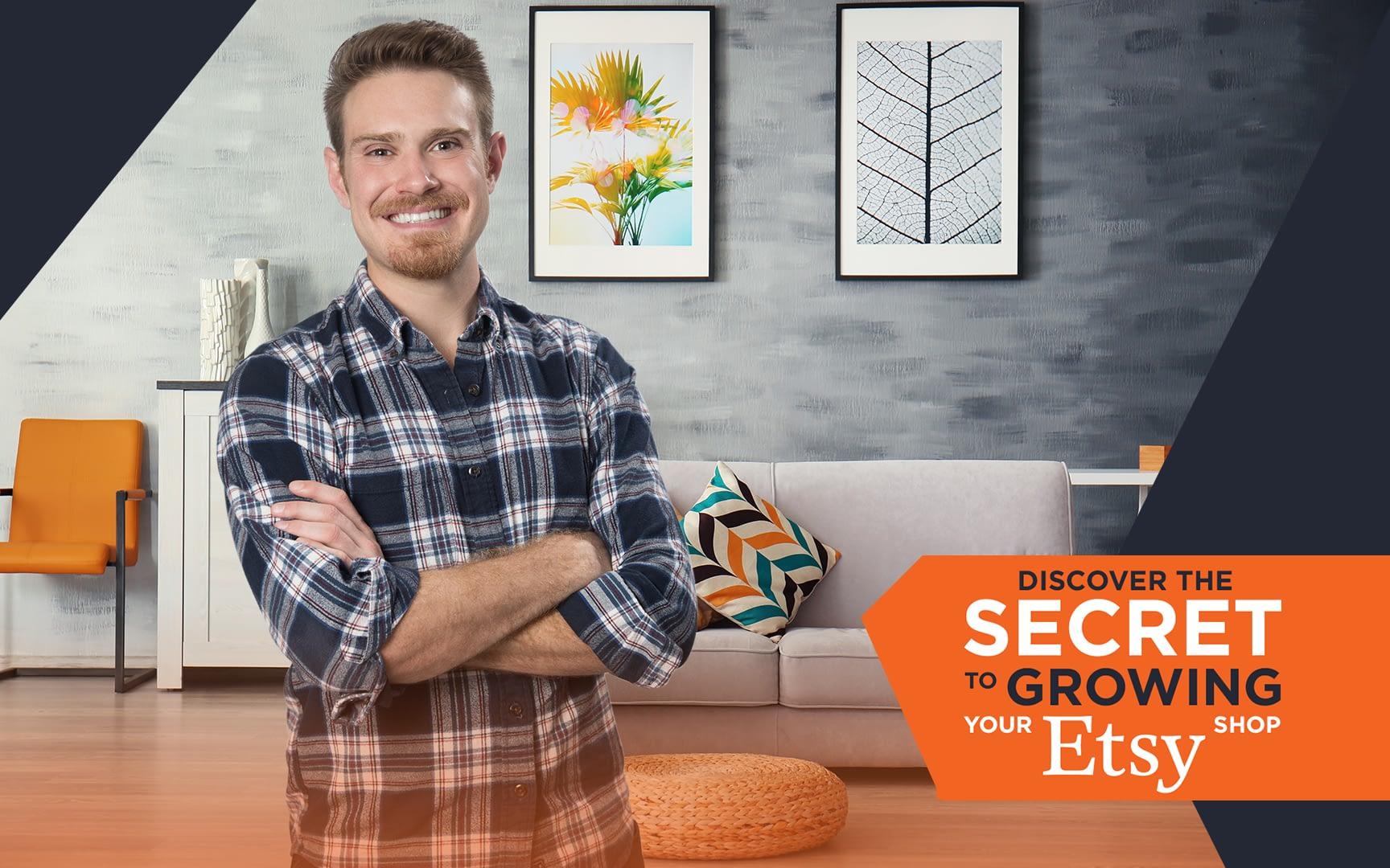 The Secret to growing your etsy shop webinars